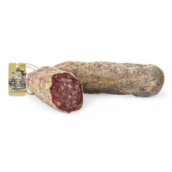 Salumificio Lovison - Salame al Tartufo Lovison - Salumi Artigianali - Salame Esclusivo del Salumificio Lovison - 800 g