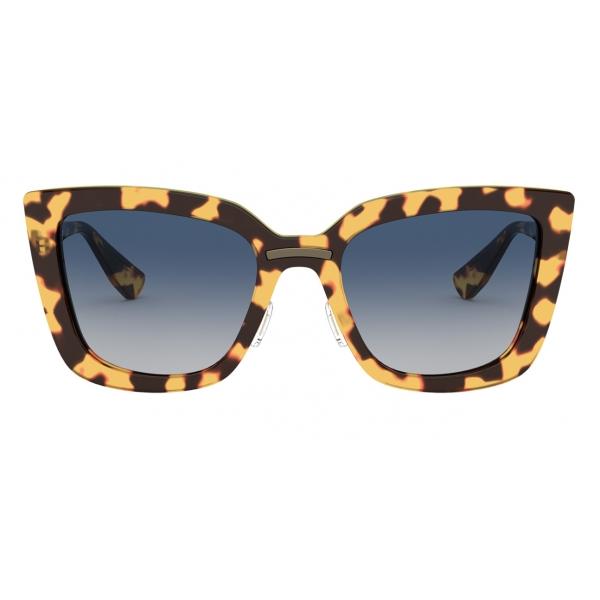 Miu Miu - Miu Miu Logo Sunglasses - Cat Eye - Tortoise - Sunglasses - Miu Miu Eyewear