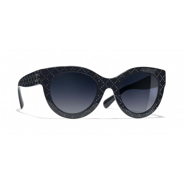 Chanel - Butterfly Sunglasses - Dark Blue Gradient - Chanel Eyewear
