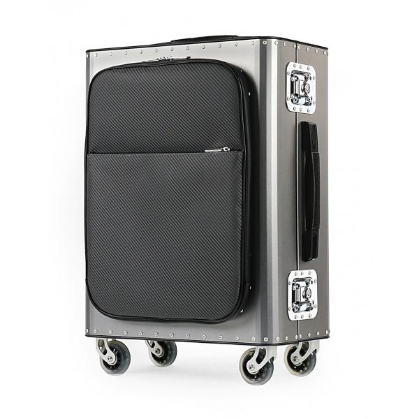 TecknoMonster - Kronos L Flap TecknoMonster - Acciaio - Trolley in Titanio e Carbonio Aeronautico