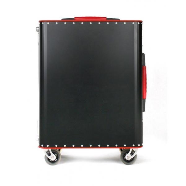 TecknoMonster - Kronos L TecknoMonster - Black - Aeronautical Titanium Trolley Suitcase