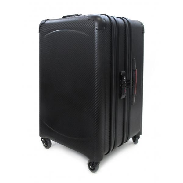 TecknoMonster - Davis Kripto Laggage in Carbon Fiber - Aeronautical Carbon Trolley Suitcase