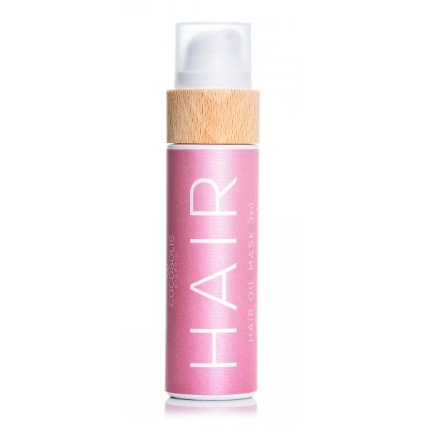 Cocosolis - Hair - Oil Mask 3in1 - Maschera all'Olio Naturale 3in1 per Nutrimento Intenso - Cosmetici Professionali