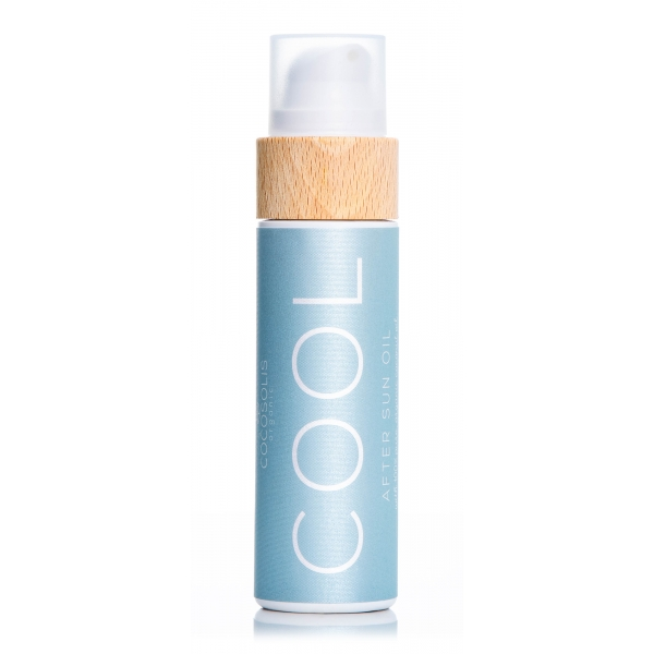 Cocosolis - Cool - After Sun Oil - Replenish your Skin After Sun Exposure with This Organic Body Oil - Professional Cosmetics