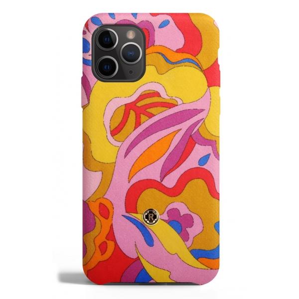 Revested Milano - Lakeshore - Carlotta - iPhone 11 Pro Case - Apple - Cover Artigianale in Seta