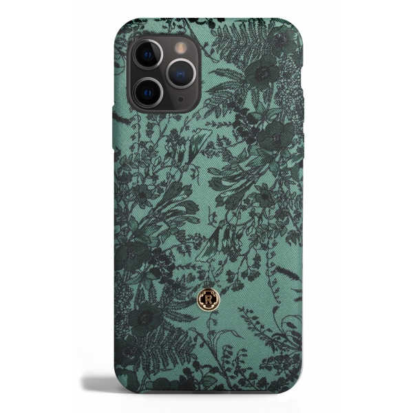 Revested Milano - Jardin - Sage - iPhone 11 Pro Case - Apple - Artisan Silk Cover