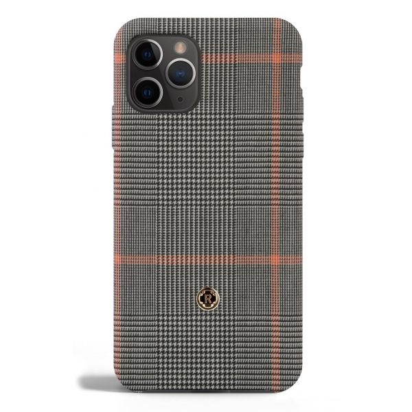 Revested Milano - Prince of Wales - Taormina - iPhone 11 Pro Case - Apple - Artisan Wool Cover