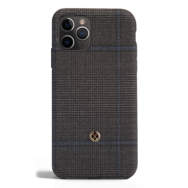 Revested Milano - Prince of Wales - Ischia - iPhone 11 Pro Case - Apple - Artisan Wool Cover