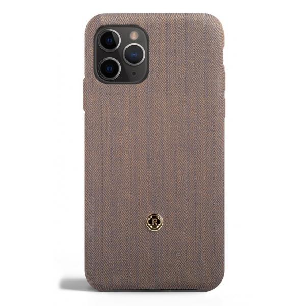 Revested Milano - Gentleman - Azure - iPhone 11 Pro Case - Apple - Cover Artigianale in Lana