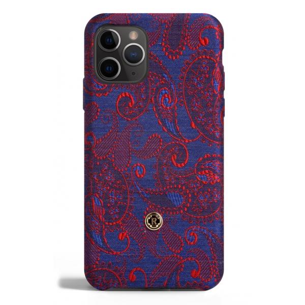 Revested Milano - Paisley - iPhone 11 Pro Case - Apple - Cover Artigianale in Seta