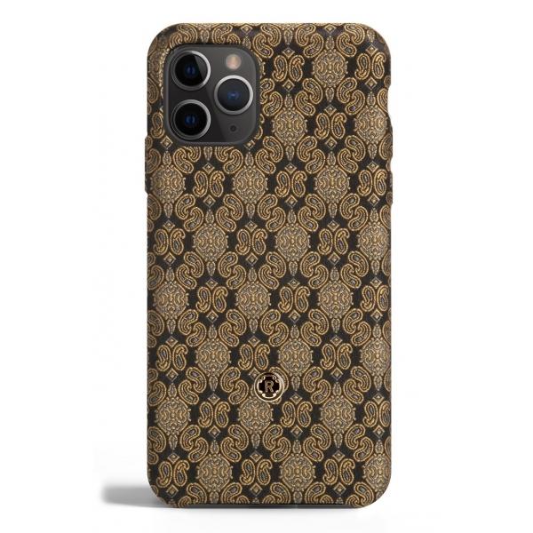 Revested Milano - Venetian Gold - iPhone 11 Pro Case - Apple - Cover Artigianale in Seta