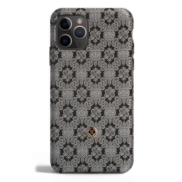 Revested Milano - Venetian White - iPhone 11 Pro Case - Apple - Cover Artigianale in Seta