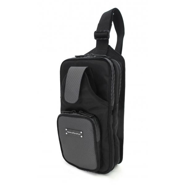TecknoMonster - Robnik Ultra Light Bag in Carbon Fiber and Alcantara® - Black Carpet Collection