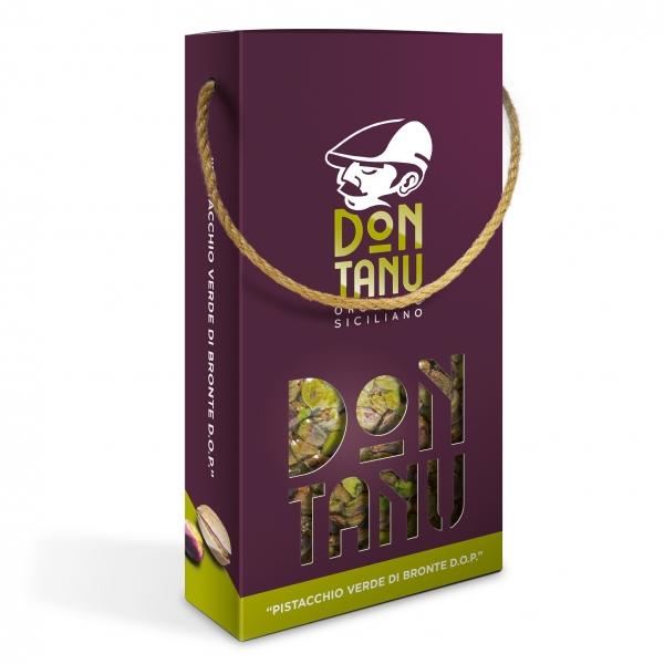 Don Tanu - Pistacchio Sgusciato Verde di Bronte D.O.P. - Frutta Secca - Sicilia - Italia - 500 g