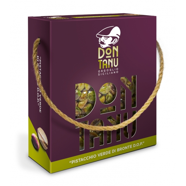 Don Tanu - Shelled Green Bronte Pistachio P.D.O. - Dried Fruit - Sicily - Italy - 250 g