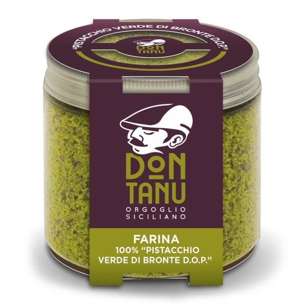 Don Tanu - Farina di Pistacchio Verde di Bronte D.O.P. - Farine Artigianali - Sicilia - Italia - 100 g