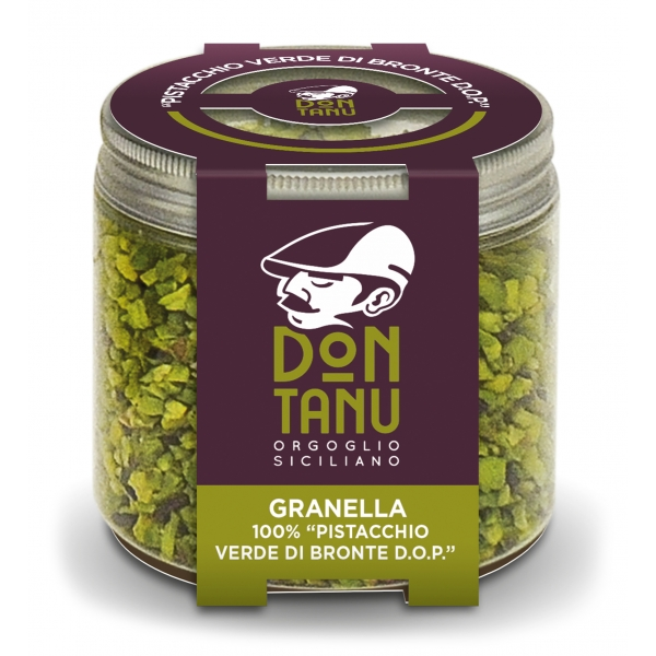 Don Tanu - Chopped Green Bronte Pistachio P.D.O. - Dried Fruit - Sicily - Italy - 100 g