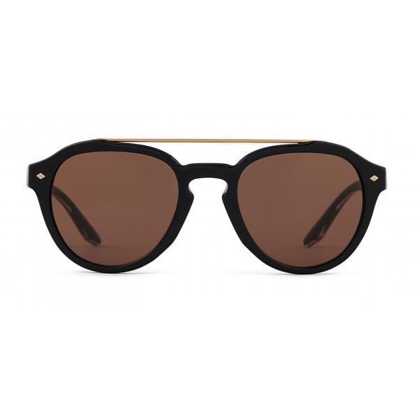Giorgio Armani - Occhiali da Sole - Nero e Marrone - Occhiali da Sole - Giorgio Armani Eyewear