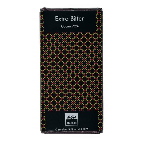 Cioccolato Maglio - Tavoletta Cioccolato Blend - Extra Bitter 72 % Cacao