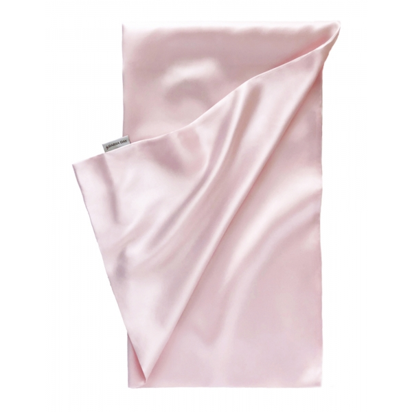 by Dariia Day - Silk Pillowcase - Blush Pink - Bedding - Home - Mulberry Silk - Artisan Silk Pillowcase - Luxury