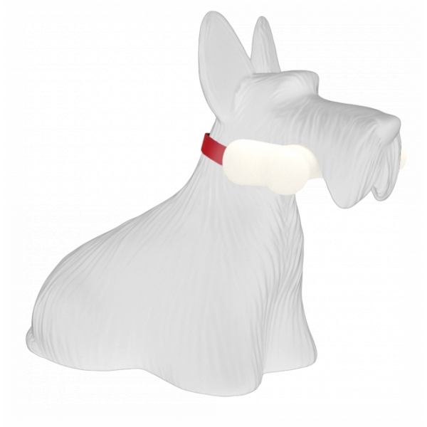 Qeeboo - Scottie - White - Qeeboo Free Standing Lamp by Stefano Giovannoni - Lighting - Home