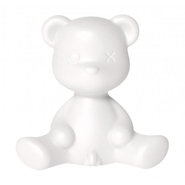 Qeeboo - Teddy Boy Lamp - Bianca - Lampada da Tavolo Qeeboo by Stefano Giovannoni - Illuminazione - Casa