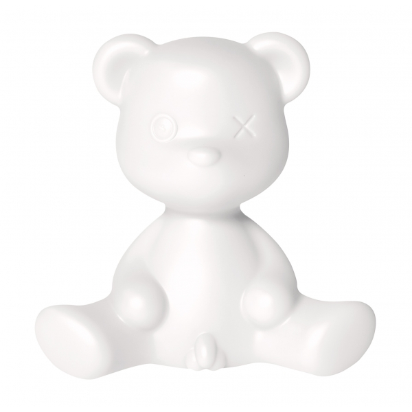 Qeeboo - Teddy Boy Lamp - White - Qeeboo Table Standing Lamp by Stefano Giovannoni - Lighting - Home