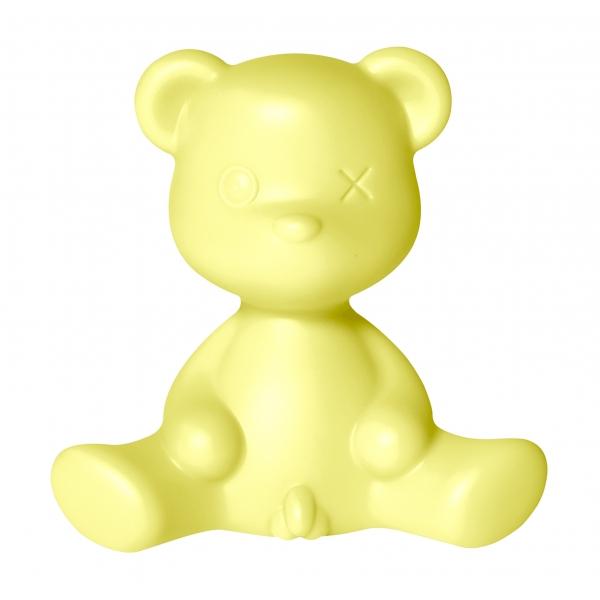 Qeeboo - Teddy Boy Lamp - Lime - Lampada da Tavolo Qeeboo by Stefano Giovannoni - Illuminazione - Casa