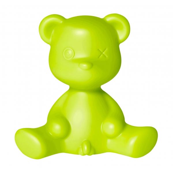 Qeeboo - Teddy Boy Lamp - Verde Chiaro - Lampada da Tavolo Qeeboo by Stefano Giovannoni - Illuminazione - Casa