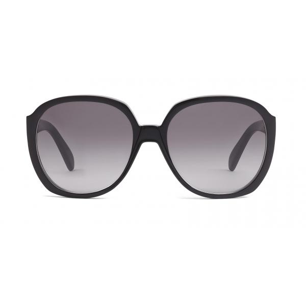 Céline - Occhiali da Sole Rotondi in Acetato - Nero - Occhiali da Sole - Céline Eyewear
