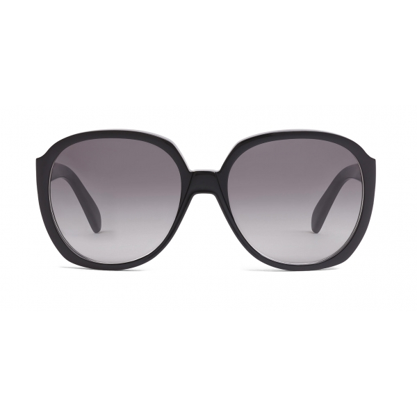 Céline - Round Sunglasses in Acetate - Black - Sunglasses - Céline Eyewear