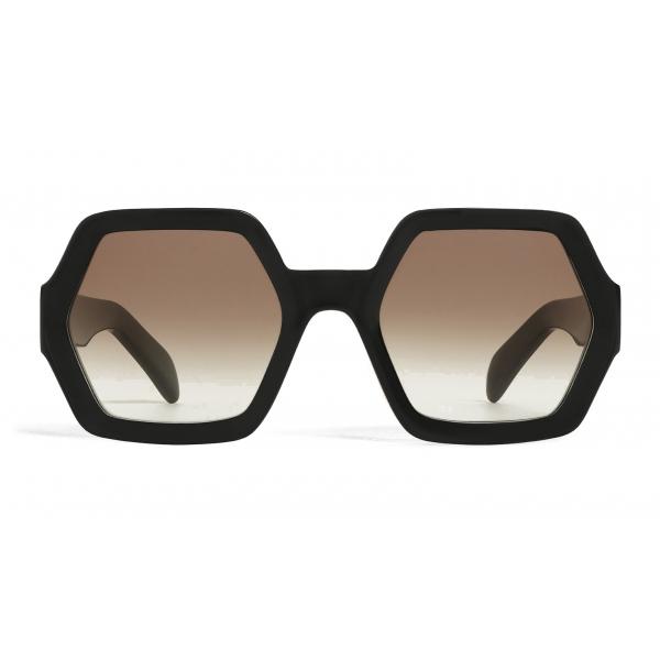 Céline - Occhiali da Sole Oversize in Acetato - Nero - Occhiali da Sole - Céline Eyewear