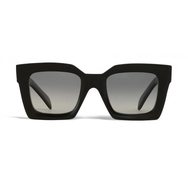 Céline - Occhiali da Sole Squadrati in Acetato con Lenti Polarizzate - Nero - Occhiali da Sole - Céline Eyewea