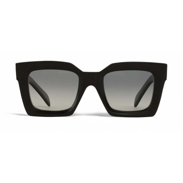 Céline - Square Sunglasses in Acetate with Polarized Lenses - Black - Sunglasses - Céline Eyewear