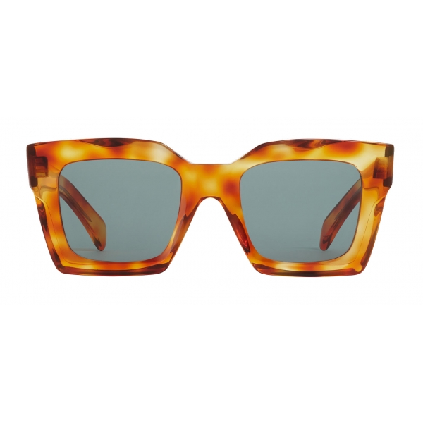 Céline - Square Sunglasses in Acetate - Honey Havana - Sunglasses - Céline Eyewear