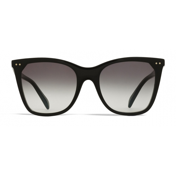 Céline - Cat Eye Sunglasses in Acetate with Polarized Lenses - Black - Sunglasses - Céline Eyewear