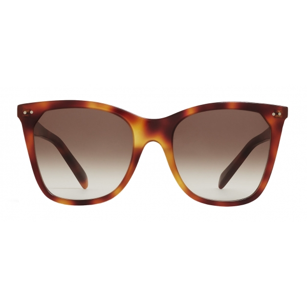 Céline - Cat Eye Sunglasses in Acetate - Blonde Havana - Sunglasses - Céline Eyewear