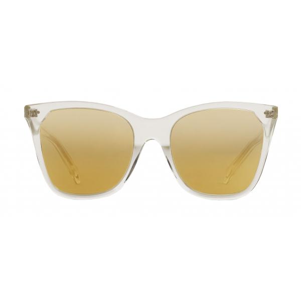 Céline - Occhiali da Sole Cat-Eye in Acetato con Lenti a Specchio - Cristallo - Occhiali da Sole - Céline Eyewear