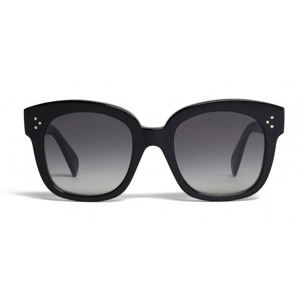 Céline - Oversized Sunglasses in Acetate - Black - Sunglasses - Céline Eyewear