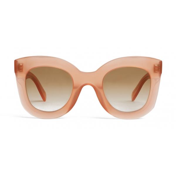 Céline - Occhiali da Sole a Farfalla in Acetato - Rosa Antico Opalescente - Occhiali da Sole - Céline Eyewear