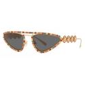 Versace - Sunglasses Signature Medusa Crystal - Gold - Sunglasses - Versace Eyewear