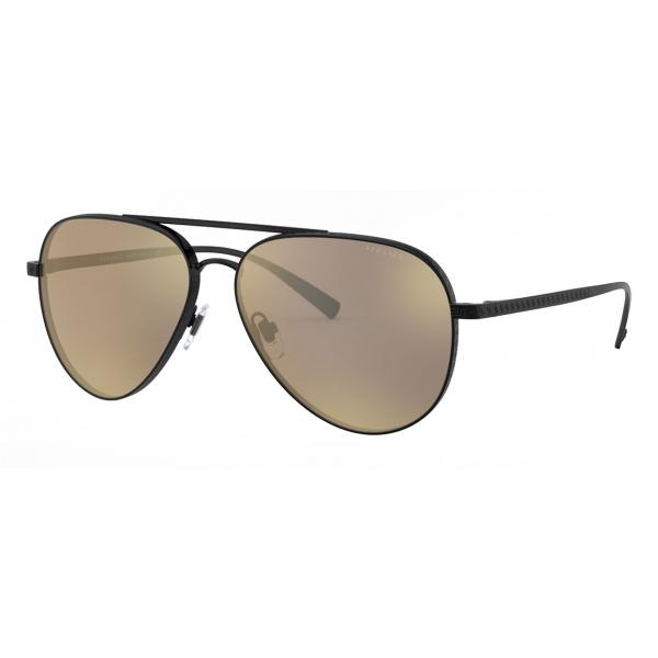 Versace - Occhiale da Sole Pilot con Greca - Nero - Occhiali da Sole - Versace Eyewear