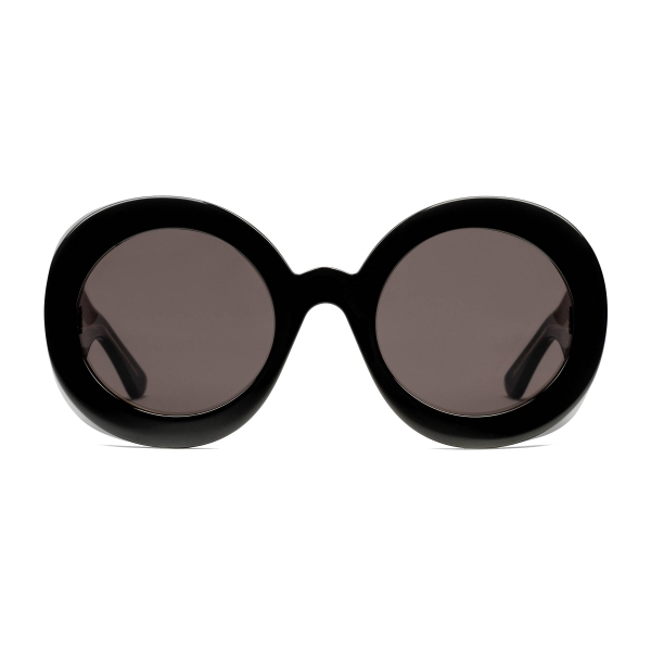 Gucci - Round Acetate Sunglasses - Black - Gucci Eyewear