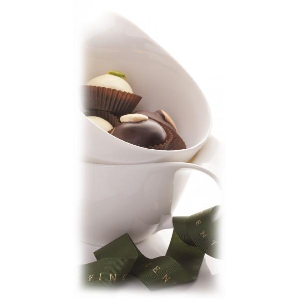 Vincente Delicacies - Paste di Mandorla Sicilia Classiche Ricoperte di Cioccolato Extra Fondente - Ninfea
