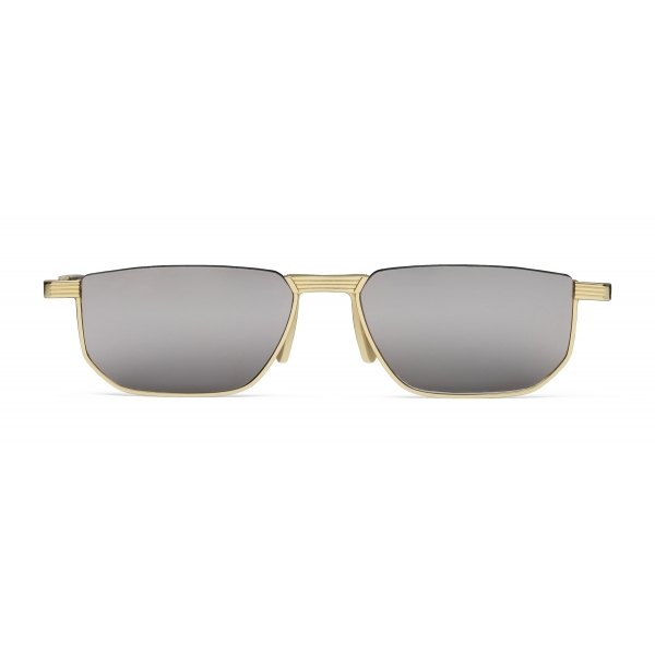 Gucci - Rectangular Metal Sunglasses - Gold - Gucci Eyewear