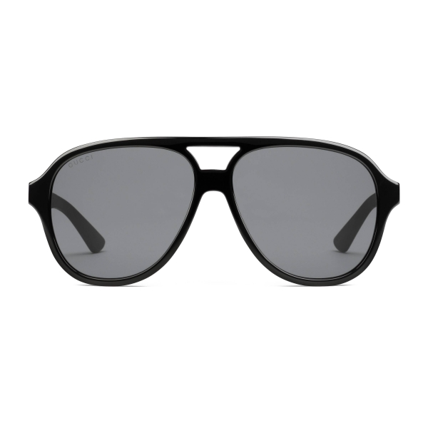 Gucci - Aviator Acetate and Metal Sunglasses - Black - Gucci Eyewear
