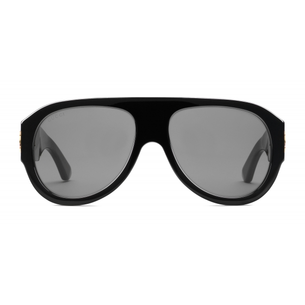 Gucci - Aviator Acetate Sunglasses - Black - Gucci Eyewear
