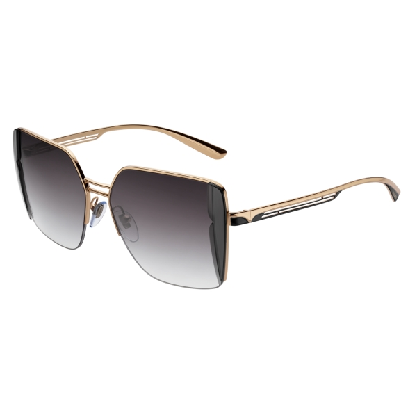 Bulgari - B.Zero1 - B.Purebright Squared Sunglasses - Black - B.Zero1 Collection - Sunglasses - Bulgari Eyewear