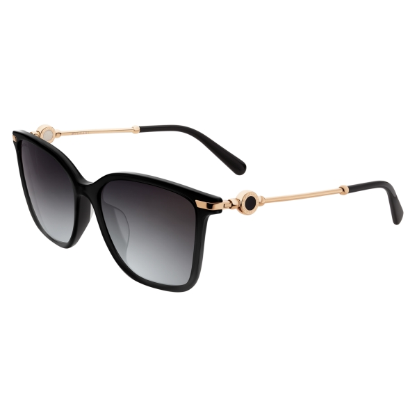 Bulgari - Bvlgari Bvlgari - Flyingscale Butterfly Sunglasses - Black - Bvlgari Bvlgari Collection - Sunglasses - Bulgari Eyewear