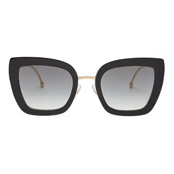 Fendi - F is Fendi - Occhiali da Sole Cat-Eye - Nero - Occhiali da Sole - Fendi Eyewear